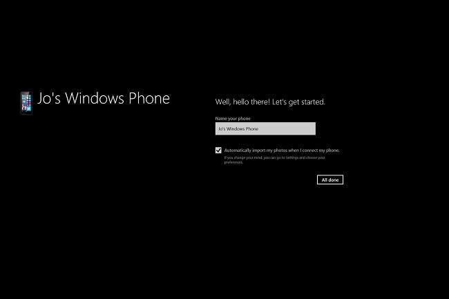 Windows Phone App: