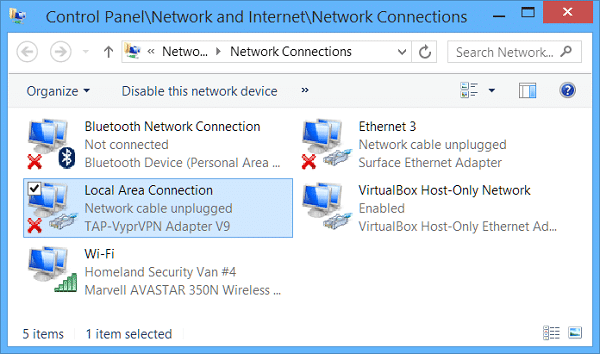 Troubleshooting Miracast on Surface Tablets-Network Connections