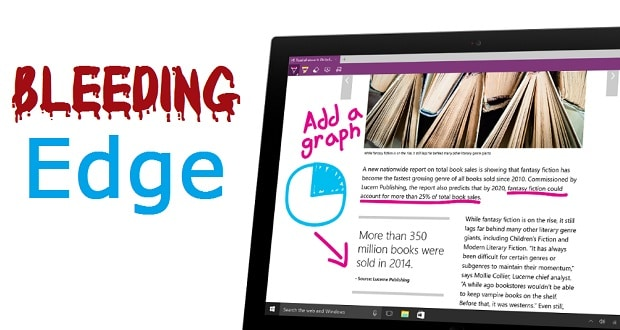 Edge Browser on Surface