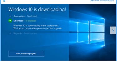 Get Windows 10 App, Just kicking off...