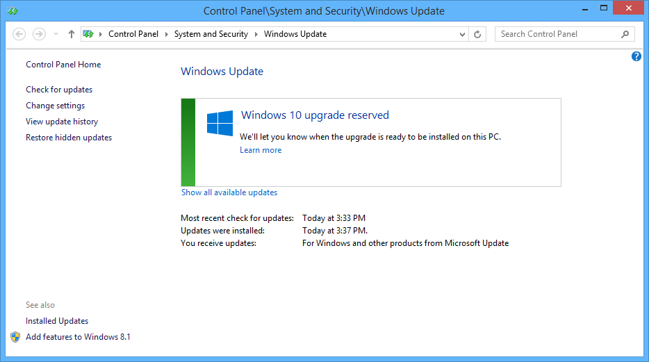 Windows 10 Install Files Already Appearing • Love My Surface