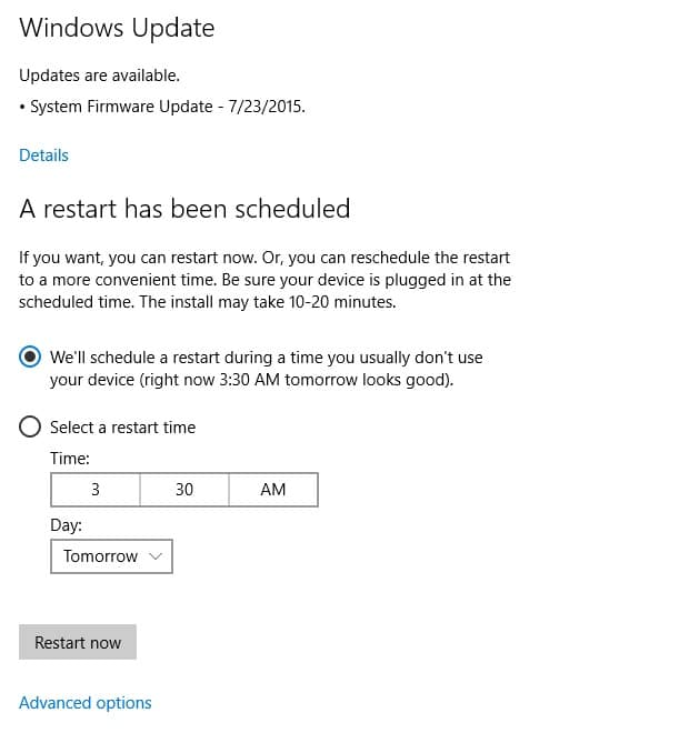 Windows 10 Installation - WU