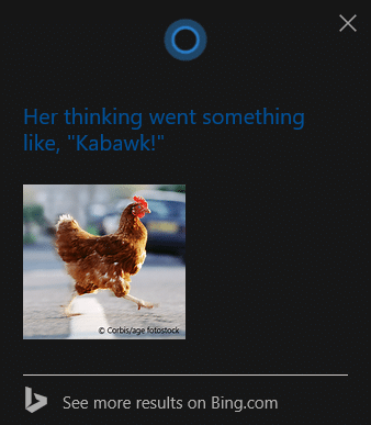 Cortana on surface tablets funny questions