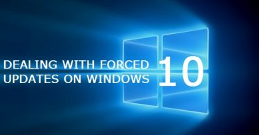 Dealing With Windows 10 Forced Updates on Surface Tablets