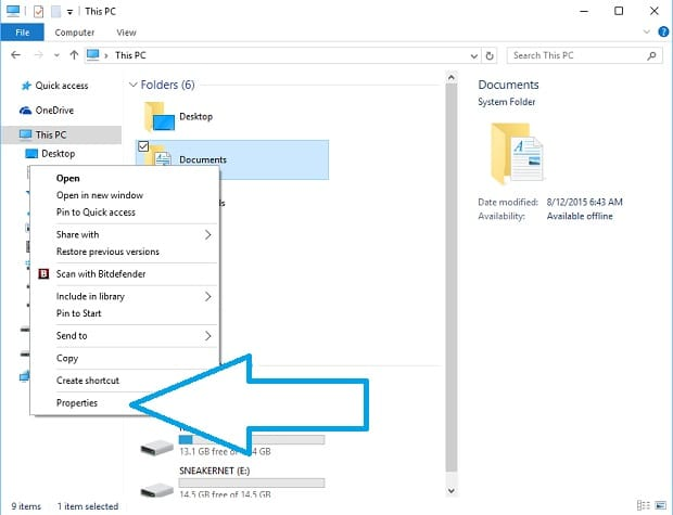 Change default save location to onedrive in windows 10 on for Documents folder to onedrive