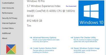 Ultimate Windows Tweaker 4.0 for Surface