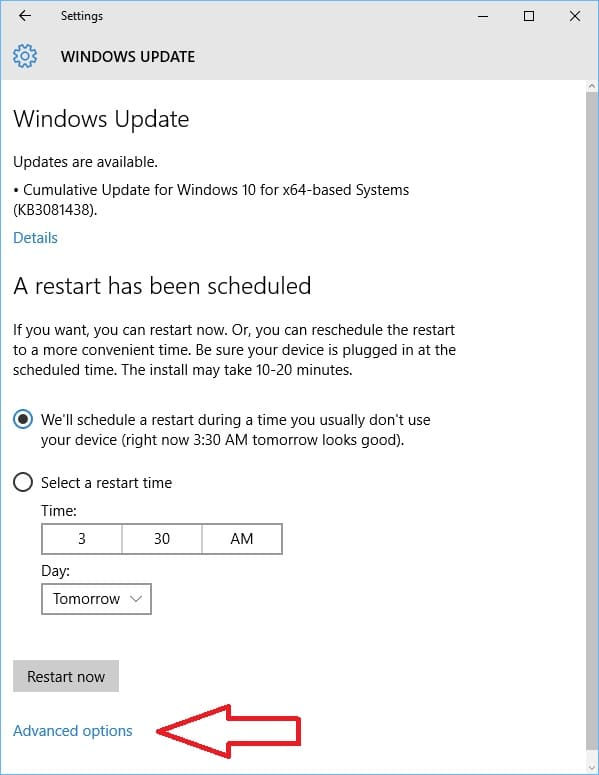 Dealing With Windows 10 Forced Updates on Surface Tablets - Love My