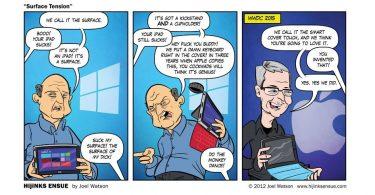 Cartoonist Predicted the Future in 2012