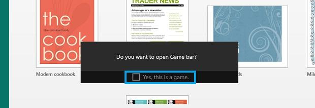 Game DVR Bar - Game Bar