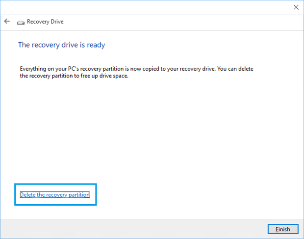 Reclaim Space After Windows 10 Upgrade 1