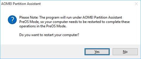 Reclaim Space After Windows Merge 5
