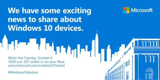 Surface Pro 4 Announcement Date Set