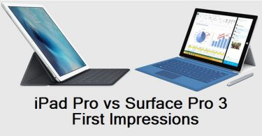 iPad Pro versus Surface Pro 3