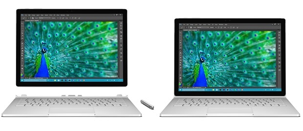 Surface Book Hands On Review Modes