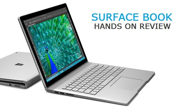 Surface Book Hands On Review