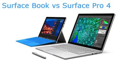 Surface Book vs Surface Pro 4