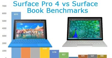 Surface Pro 4 vs Surface Book Benchmarks