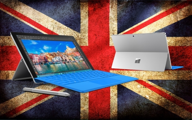 UK Surface Pro 4 Release