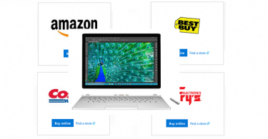 buy a Surface Book or Surface Pro 4