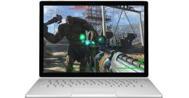 Fallout 4 on a Surface Book