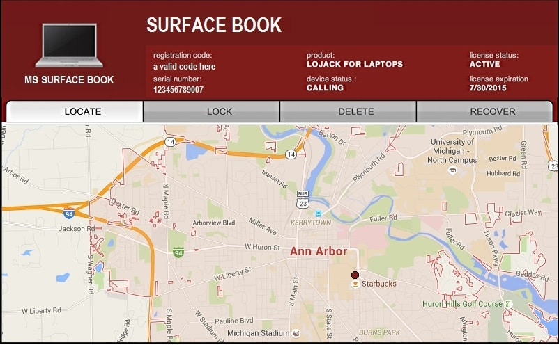 Find your Surface - Lojack