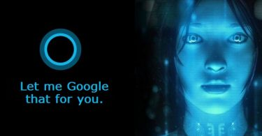Make Cortana use Google