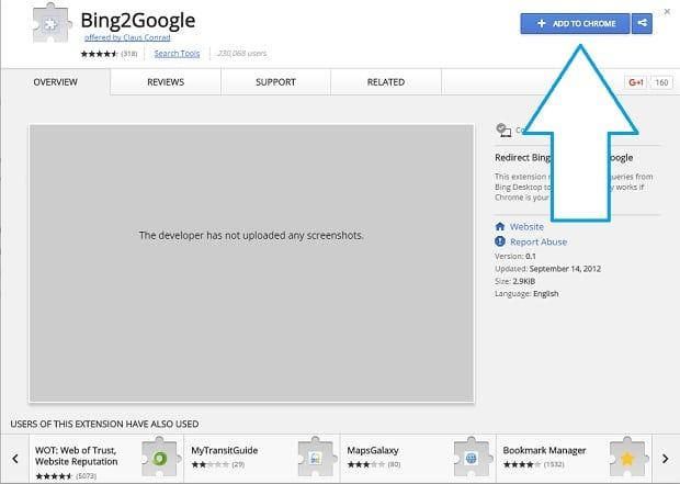 Make Cortana use Google instead of Bing 3