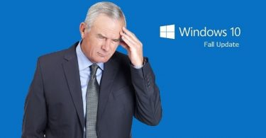 Windows 10 Fall Update Problems