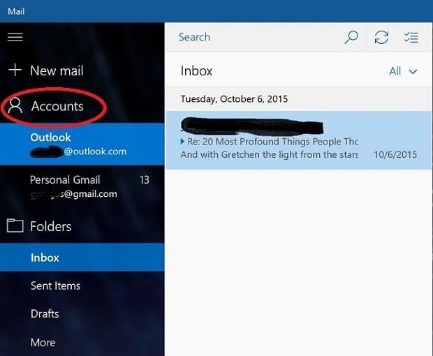 Email App Setup
