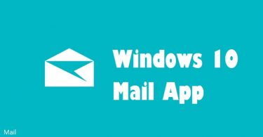 Win 10 Mail App