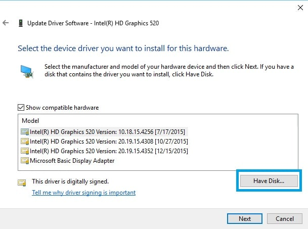 New Display Drivers for Surface Pro 4 and Surface Book Have Disk