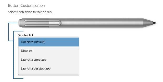 Remap The Surface Pen Button Options