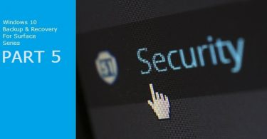 Using Windows 10 System Protection System