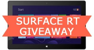 Surface RT Giveaway