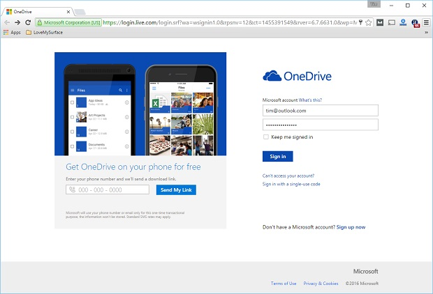 Onedrive online only files Web