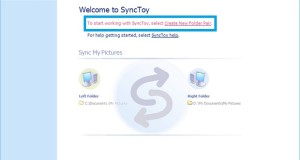 SyncToy on Surface Tablets Setup 1