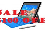 Sale $100 on Surface Pro 4