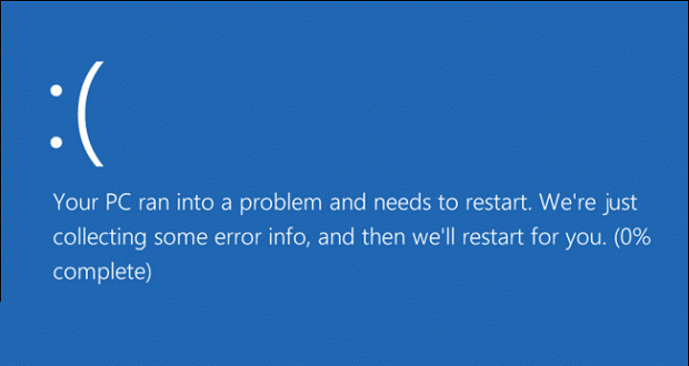 0x800f0203 Blue-Screen-of-Death-Windows-10