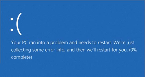 0x800f0203 Blue-Screen-of-Death-Windows-10
