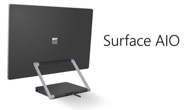 """Surface Pro AIO """"Cardinal"""" releasing in October?"""