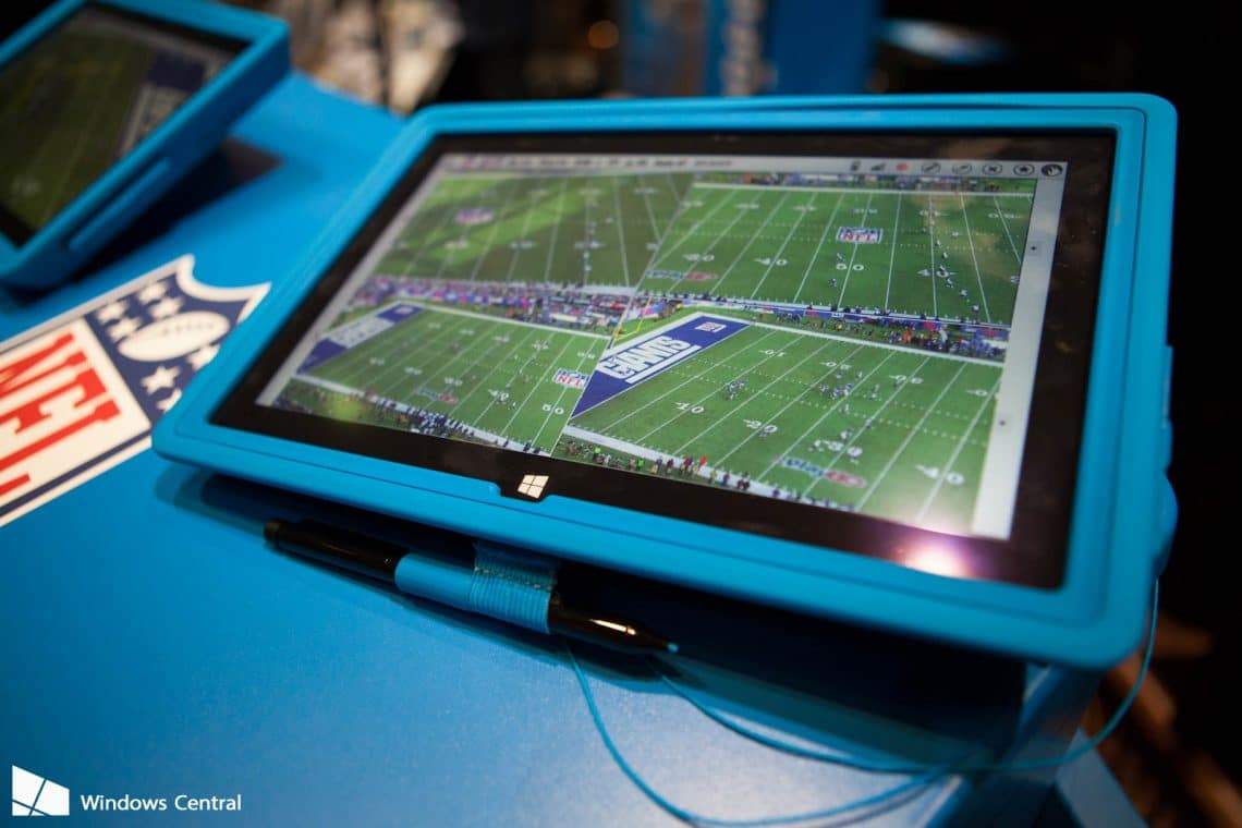 Surface Pro 4 Being Abused By Nfl Love My Surface