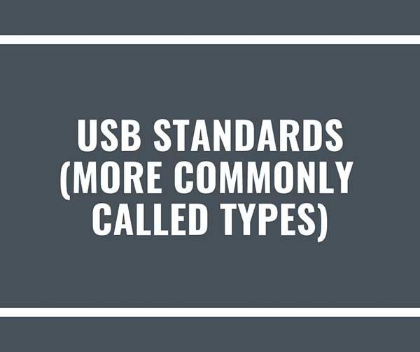 usb-standards