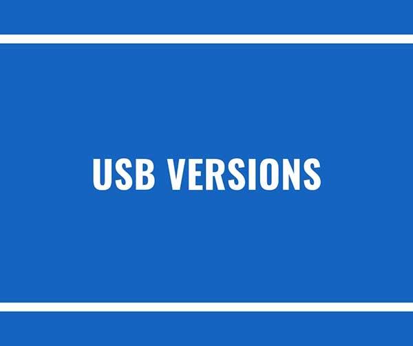 usb-versions