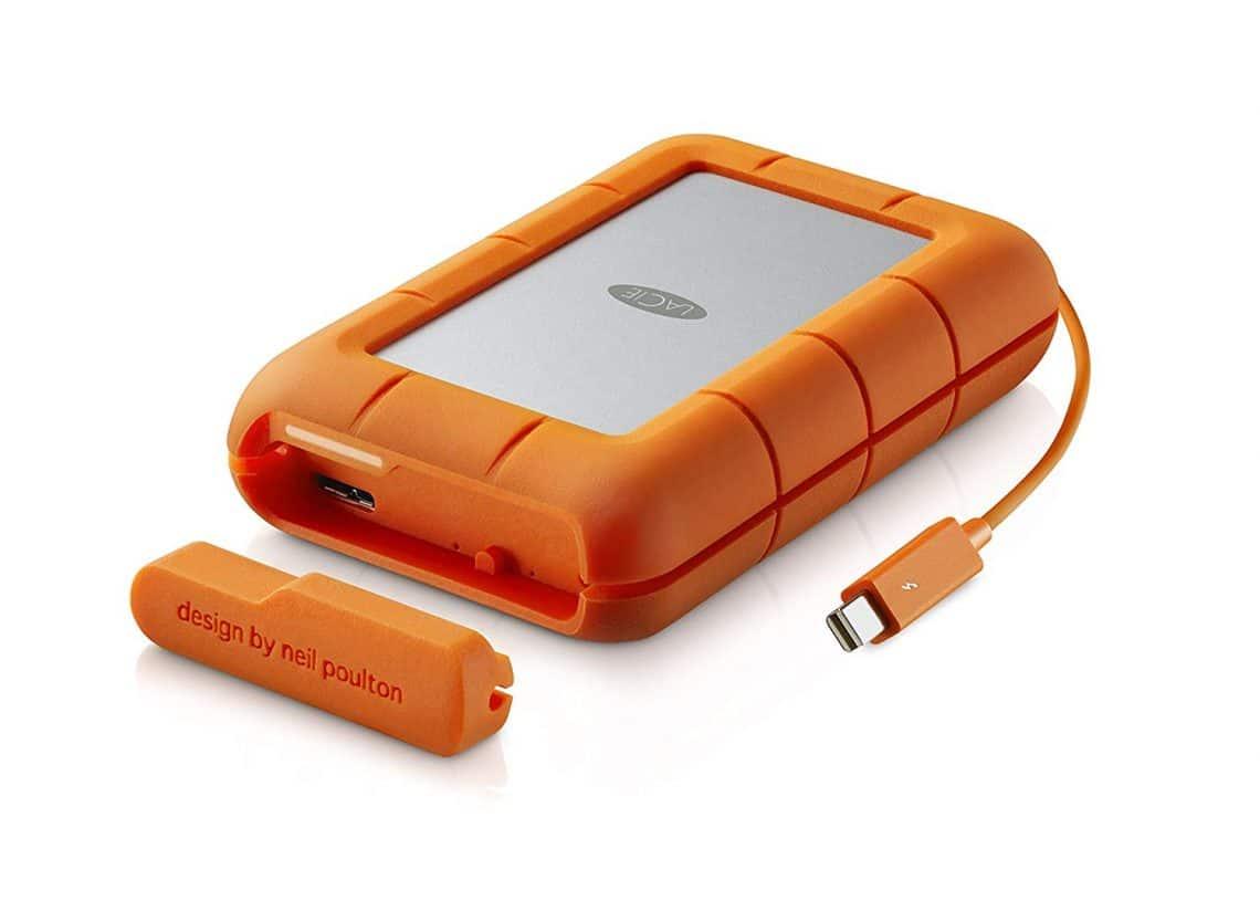 LaCie Rugged RAID 4TB Portable Hard Drive